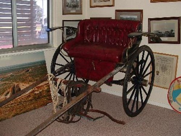 Image Gallery - Buggy in the Museum